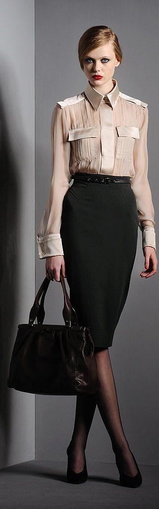 Frida Gustavsson for Alberta Ferretti collection (Fall 2010) photo shoot